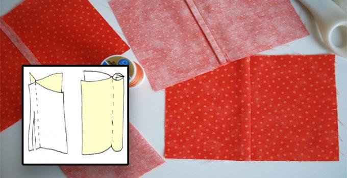 Cómo coser una costura francesa bien fácil