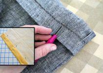 Como hacer el ruedo de un pantalón paso a paso